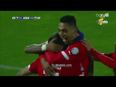 تشيلي - الاكوادور : 2-0