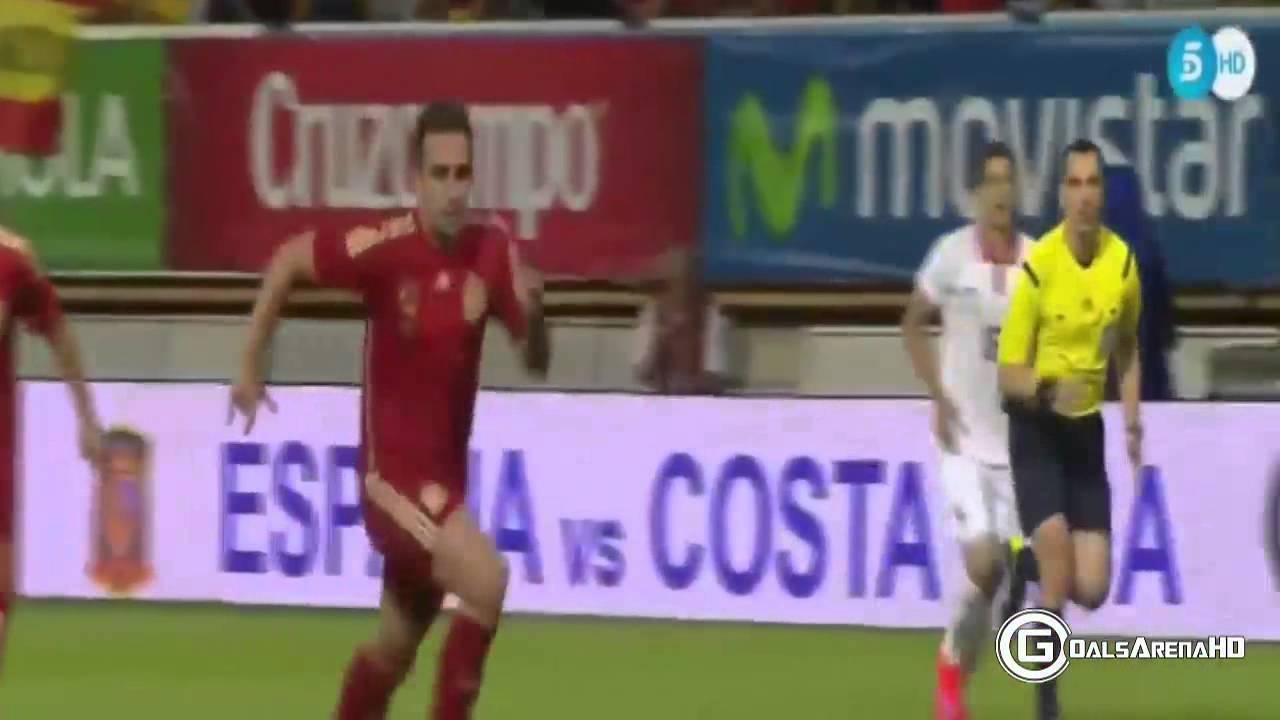 اسبانيا وكوستاريكا : 2-1