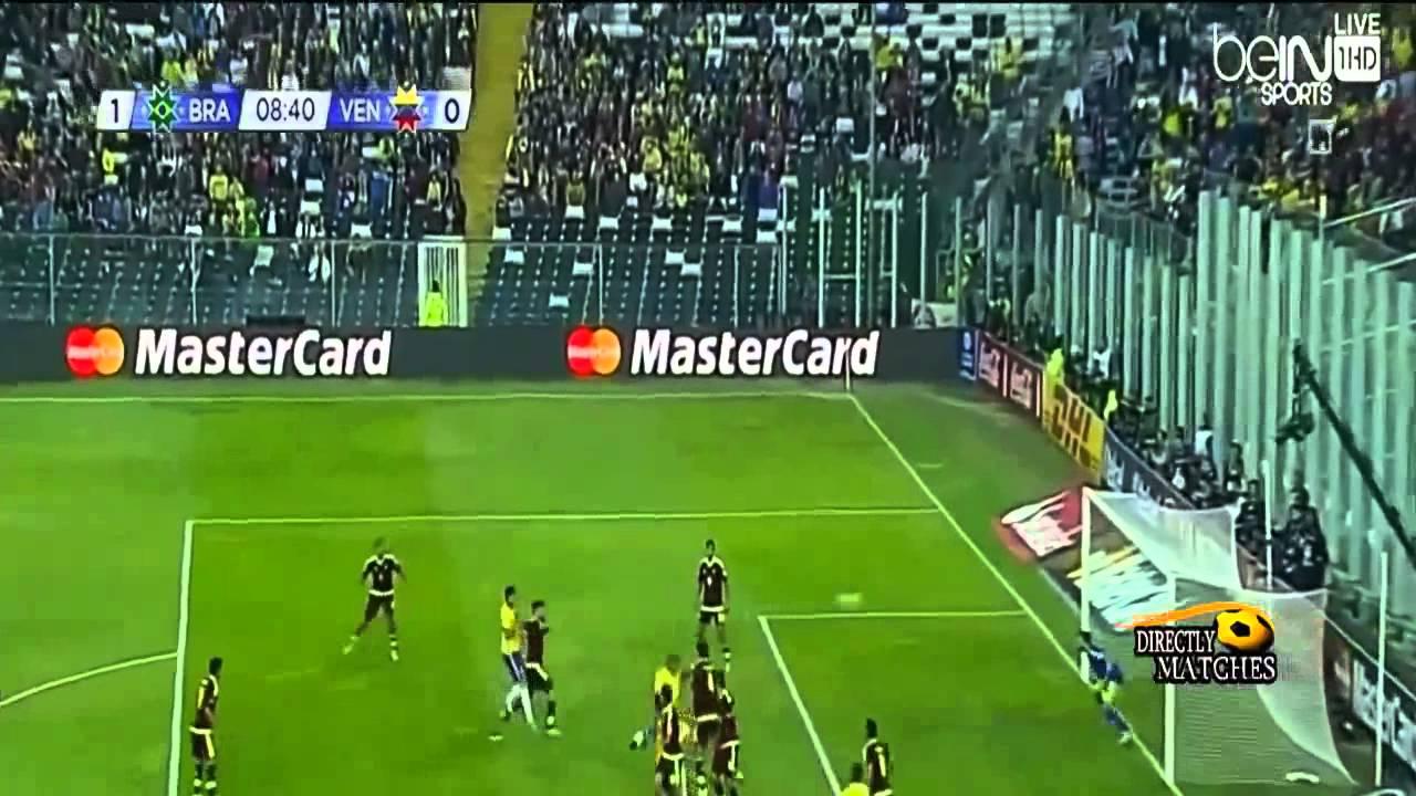 البرازيل-فنزويلا : 2-1