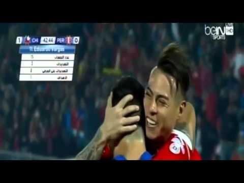 تشيلي وبيرو 2-1