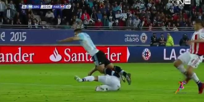 بالفيديو: الارجنتين والباراغواي 2-2