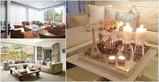 10 أفكار لتصميم غرفة معيشة رومانسية في المنزل