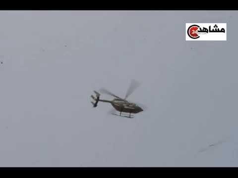 كاميرا مشاهد24: هيلوكبتير تمسح البحر للبحث عن جثت الأطفال