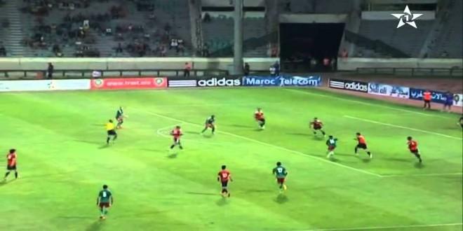 المنتخب المحلي أمام ليبيا :3-0