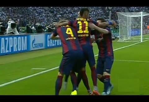بالفيديو : برشلونة -يوفنتوس :3-1