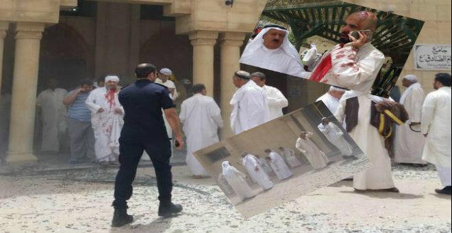 تفجير يهز مسجدا أثناء صلاة الجمعة بالكويت