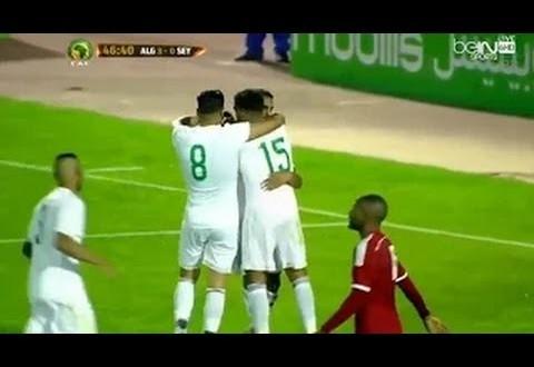الجزائر -السيشل : 4-0