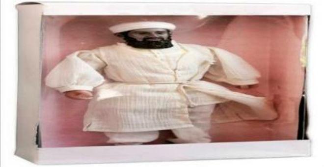 3 آلاف جنيه استرليني ثمن دمية بن لادن