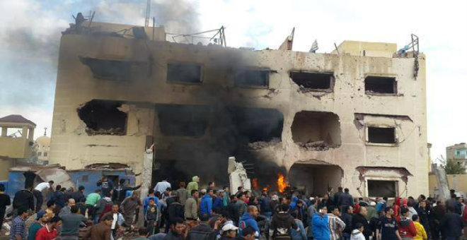 مصر ..انفجار شمال سيناء يخلف ضحايا في الأرواح