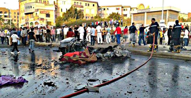 انفجار سيارتين مفخختين بالجيزة يودي بحياة 3 أشخاص