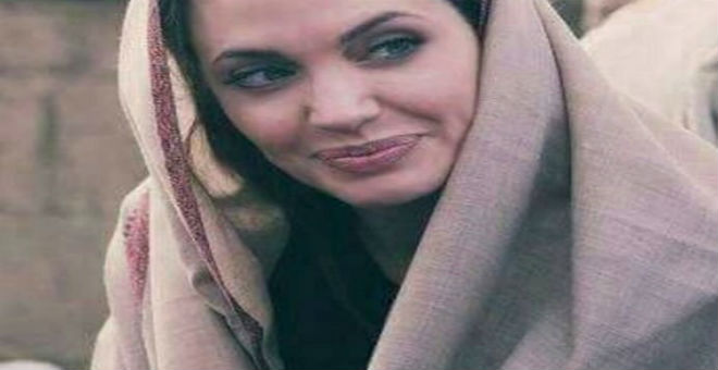 أنجلينا جولي تهنئ أصدقائها المسلمين بحلول رمضان