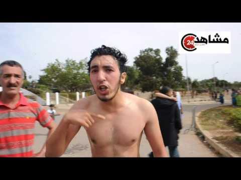 شاب يحاول انتحار امام عمالة بن مسيك سيدي عثمان بالبيضاء