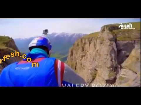 فيديو...رياضي ينفذ أعلى قفزة في العالم من ارتفاع 1200 متر