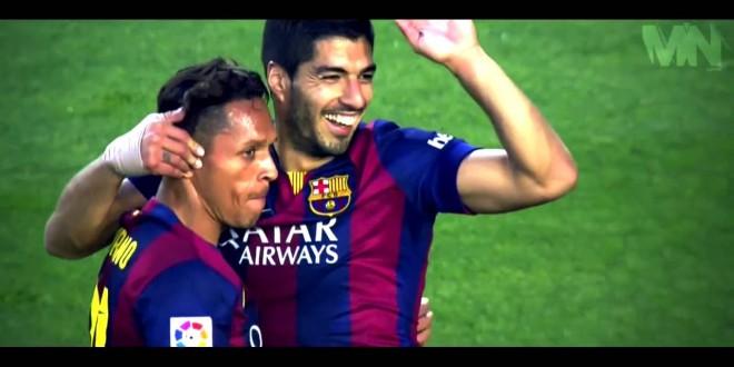 أهداف ثلاثي برشلونة