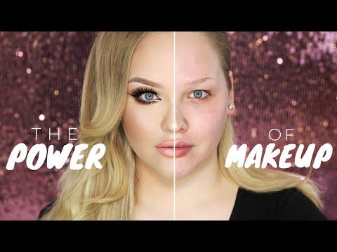 فيديو...قوة المكياج في إبراز ملامح المرأة