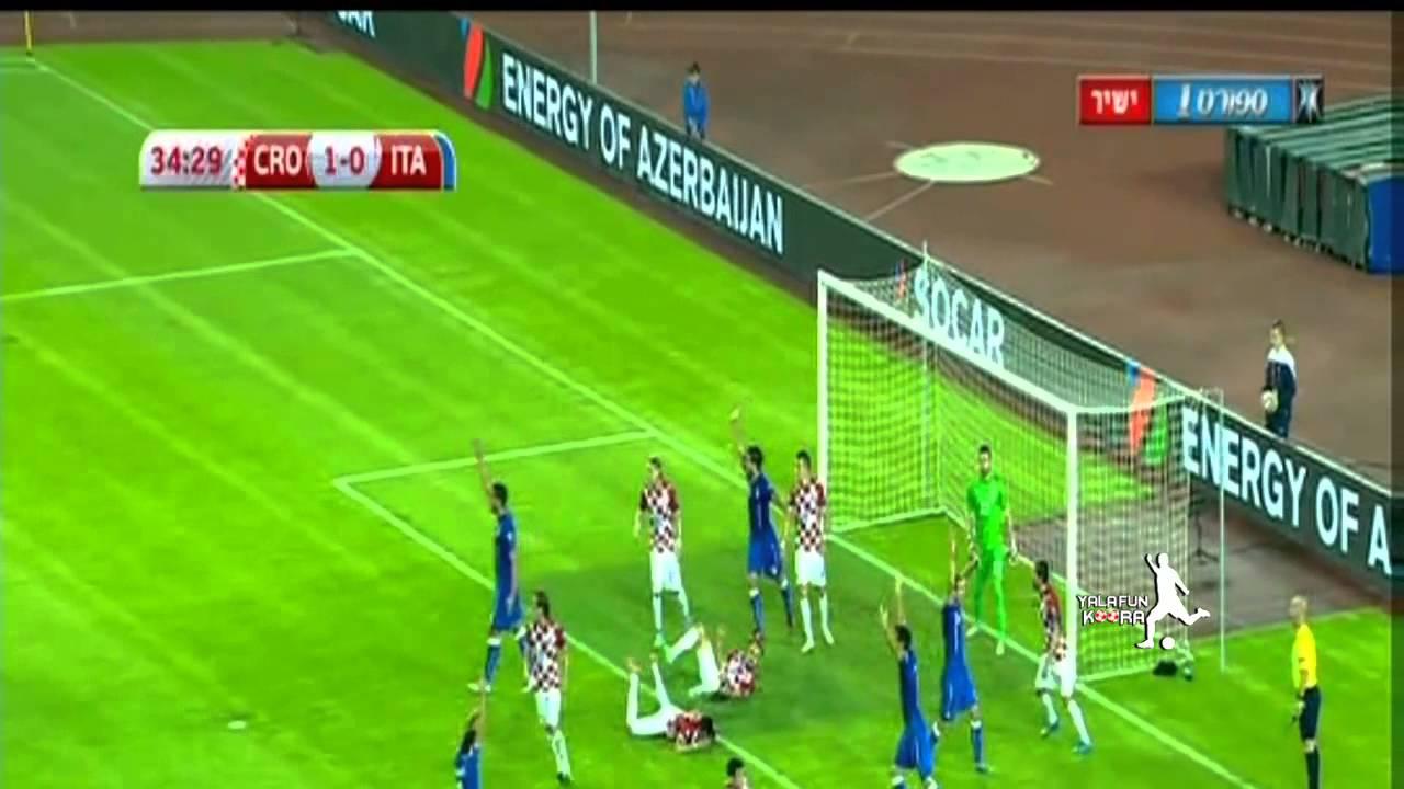 ايطاليا تتعادل أمام كرواتيا
