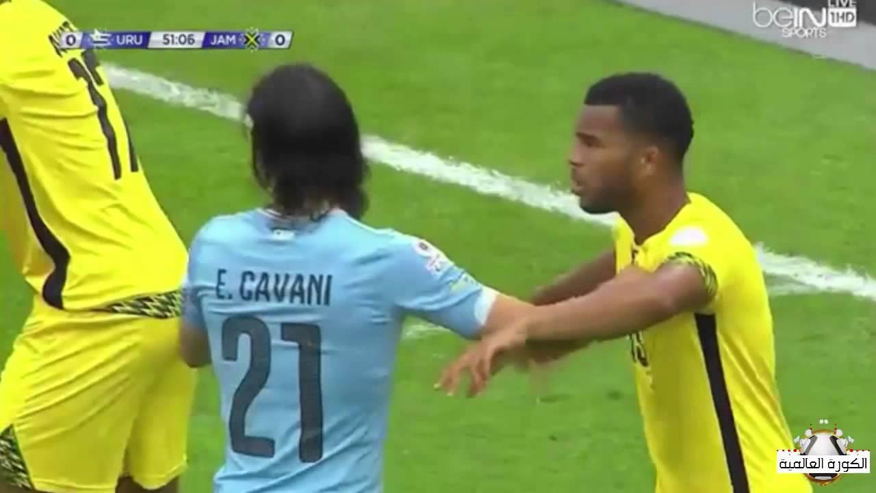 فوز الأوروغواي على جمايكا