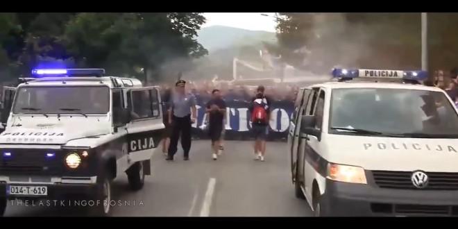 شاهد كيف إستقبلت الجماهير البوسنية فريق الإحتلال الصهيوني