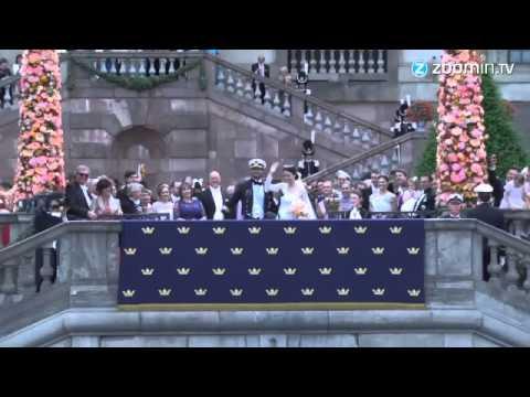 فيديو...حفل زواج الأمير السويدي كارل فيليب