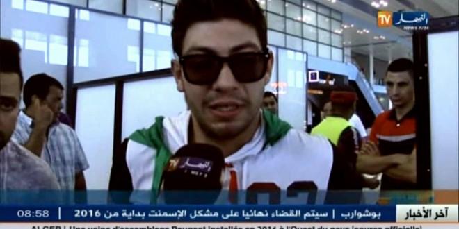 الثنائي الجزائري سعيد ومحمد بعد عودتهما من إكس فاكتور
