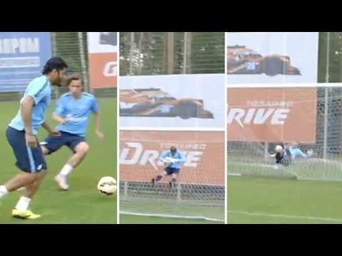 لاعب برازيلي يمزق الشباك على طريقة الكابتن ماجد