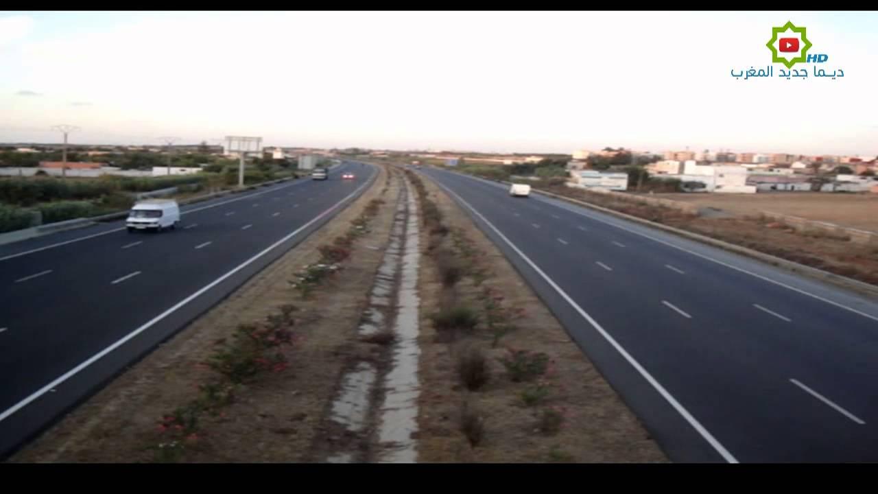 الطريق السيار ثواني قبل أذان المغرب
