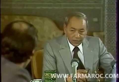 فيديو الملك الراحل الحسن الثاني أكد دعمه لتونس عسكريا
