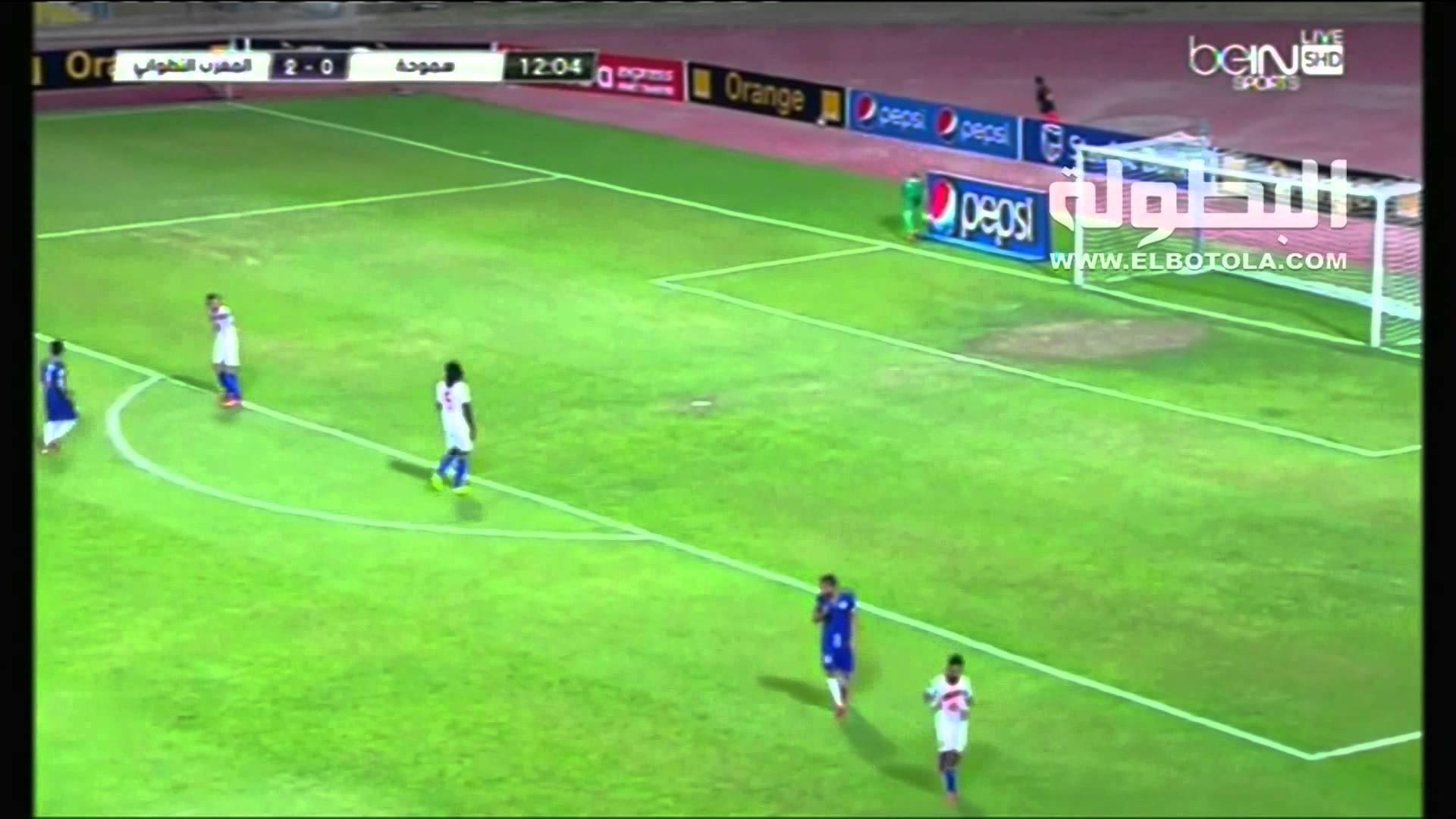 سموحة-المغرب التطواني: 3-2