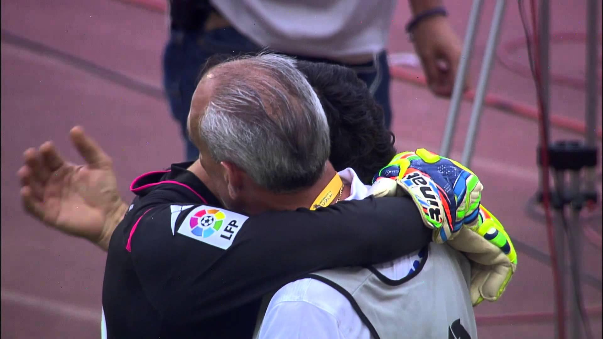 بكاء ياسين بونو بعد الفشل في الصعود