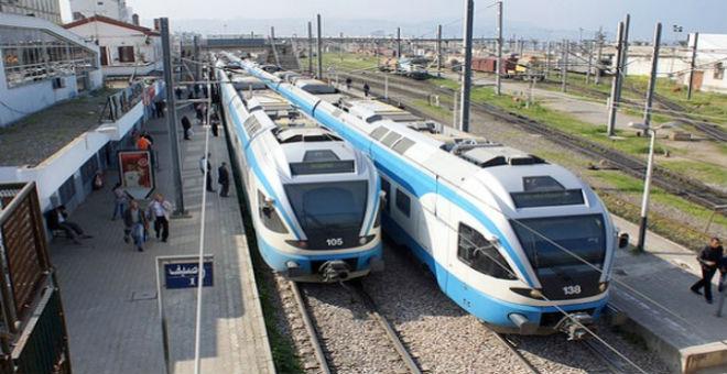 نهاية إضراب نقابات السكك الحديدية بالجزائر