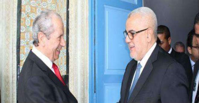رئيس مجلس نواب الشعب التونسي يلتقي بنكيران