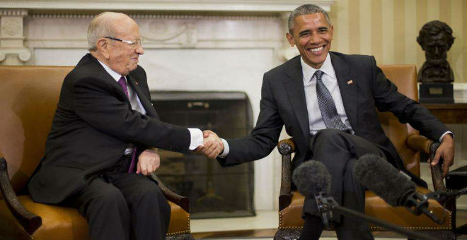 أوباما يتعهد بدعم تونس في حربها ضد الإرهاب