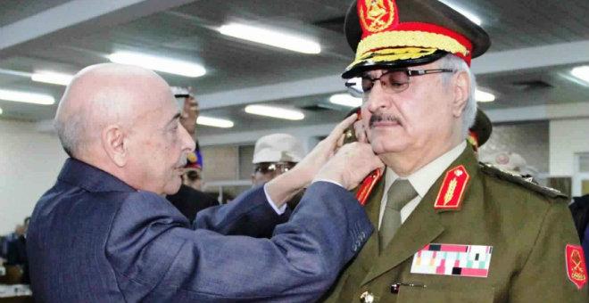 مصر تعرض على الجزائر دعم قوات حفتر لمواجهة داعش