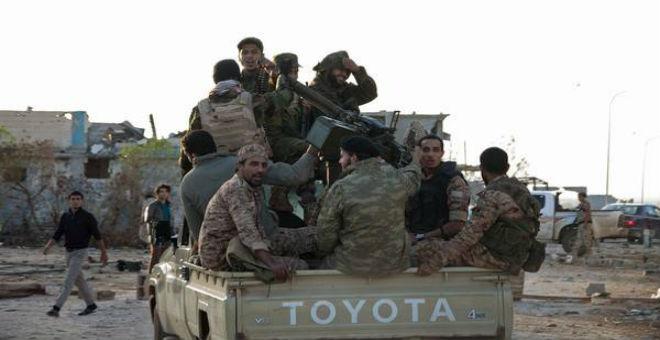 مقتل 5 من قوات حفتر في هجوم ببنغازي