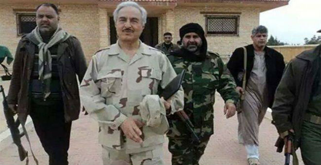ليبيا: قوات حفتر تتقدم نحو مدينة العجيلات