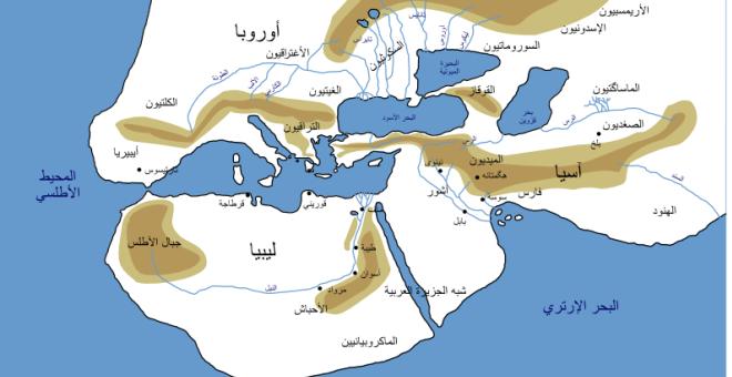 المصادر الدينية المشتركة بين مصر والمغرب القديمين