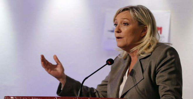 مارين لوبين تدعو لإغلاق المساجد السلفية بفرنسا