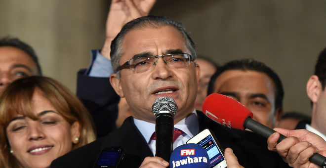 محسن مرزوق: تونس دعمت الثوار الليبيين بالسلاح