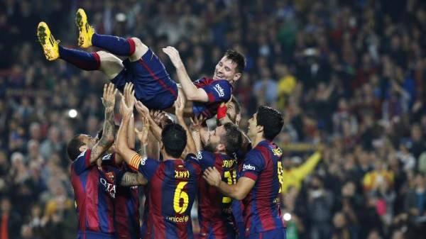 برشلونة يتوج بطلا لدوري أبطال أوروبا