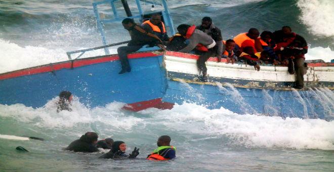 ليبيا: 2000 مهاجر سري عبروا باتجاه أوروبا نهاية الأسبوع