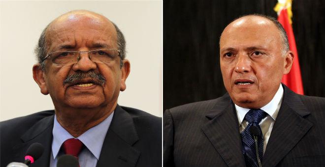 وزراء مصر والجزائر وإيطاليا في اجتماع لبحث الأزمة الليبية