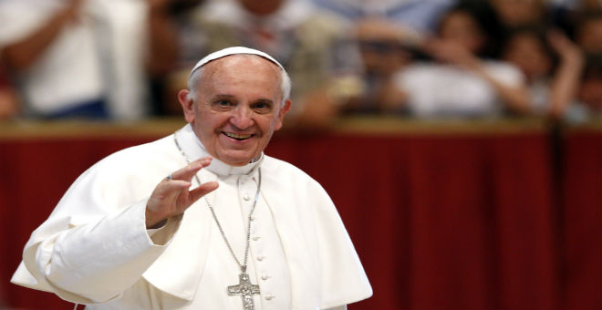 البابا فرانسيس يدعو إلى الحوار بين الأديان