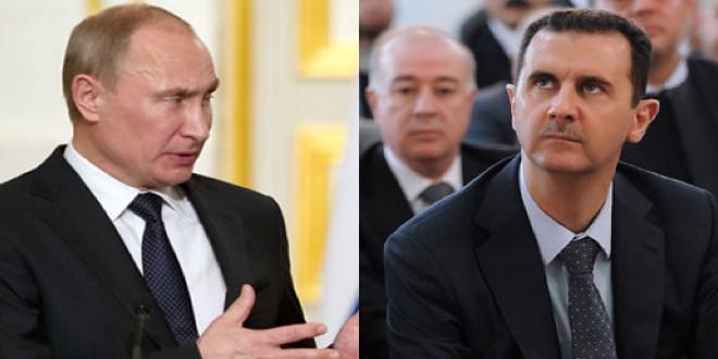 Putin Assad1