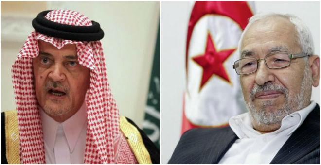 ويكيليكس السعودية: سعود الفيصل يوصي بعدم التعرض للغنوشي