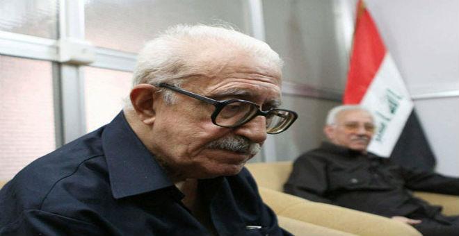 جثمان طارق عزيز يوارى الثرى بالأردن
