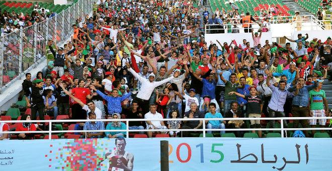 بالصور أهم لحظات ملتقى محمد السادس لألعاب القوى