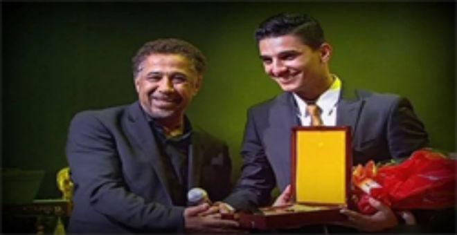 الشاب خالد يكرم محمد عساف في الجزائر