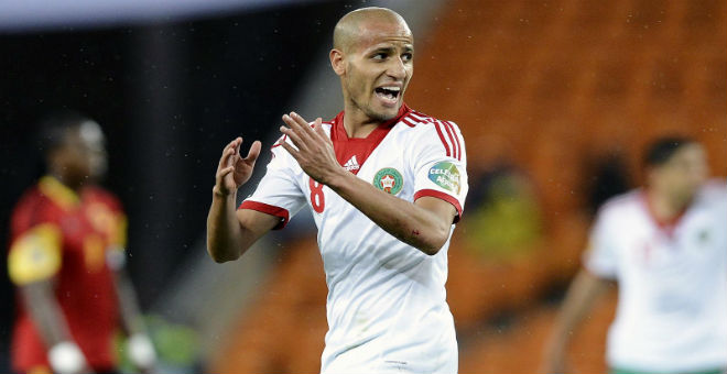 الاصابة تبعد الأحمدي عن مباراة المغرب أمام ليبيا