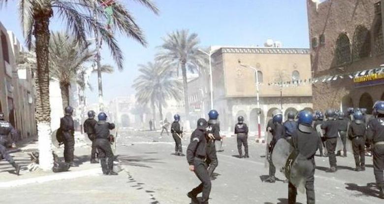 السلطات الجزائرية تحتجز 127 متهما بارتكاب أعمال عنف طائفي