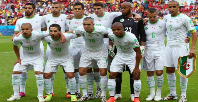 المنتخبين الجزائري والتونسي في المستوى الأول قاريا